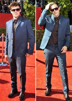 Zac Efron sigue queriendo ser igual a Robert!