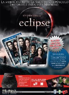 Ediciones del DVD de eclipse en Mexico.