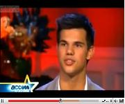 Access Hollywood Entrevista a Taylor Lautner!
