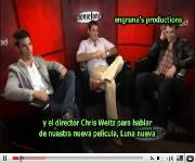 Entrevista De Chris,Taylor y Robert En Unscripted