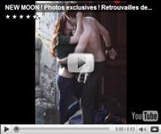 New Moon: Fotos exclusivas! Retrouvailles de Bella & Edward !